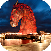 The Kelpies Coaster FMC_11_SC