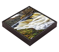The Weir @ Larbert Framed Tile  FMC_12_FT