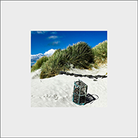 Tiree Beach Mounted Print AS_32_MM