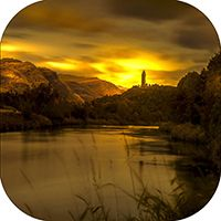 Wallace Monument Coaster AS_24_SC