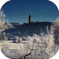 Wallace Monument Coaster AS_38_SC