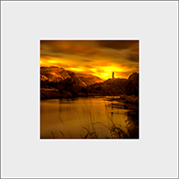 Wallace Monument Mounted Print AS_24_MM