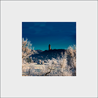 Wallace Monument Mounted Print AS_38_MM