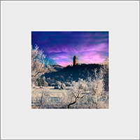 Wallace Monument Mounted Print AS_39_MM