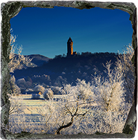 Wallace Monument Slate Coaster AS_38_SSC
