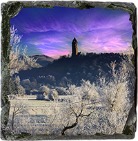 Wallace Monument Slate Coaster AS_39_SSC